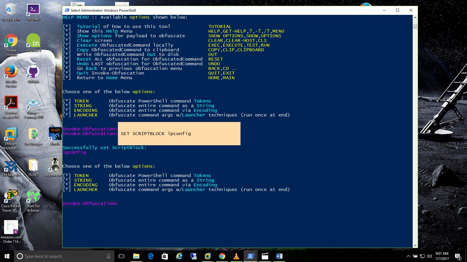 Powershell Obfuscation Techniques with Bernard Mott